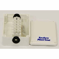 JB1P Junction Box Plastic 72x50x25mm 2x65mm Glands