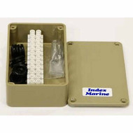 JB3P Junction Box Plastic 111x60x31mm 2x10mm Glands