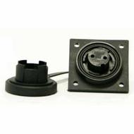 2 Pin LF Skt IP68 Bulgin DP c/w Caps & Screws