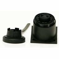 2 Pin Socket Bulgin c/w Caps & Screws