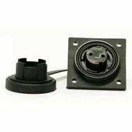 3 Pin LF Skt IP68 Bulgin DP c/w Caps & Screws