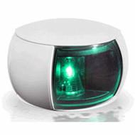 2NM Col Reg Starboard Lamp White Shroud Coloured Lens