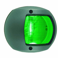 12V Black Side Light Green