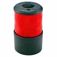 12V Red All Round Light Black Base Mount