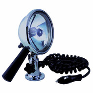 12V 7inch Chrome Plated Handheld Searchlight