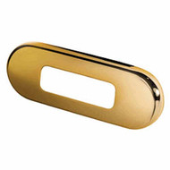 Gold Plated Stainless Rim for Step and Courtesy Lights