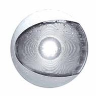 EuroLED Interior/Exterior LED White Lamp with White Shroud