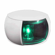 2NM Starboard Side Light White Shroud Coloured Lens