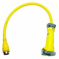 100A 125/250V plug adaptor with 50A 125/250V receptacle