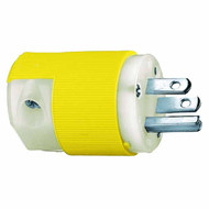 15A 125V 2P 3W straight blade nylon Insulgrip plug