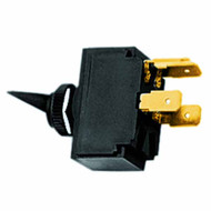 Black switch boot for toggle switches
