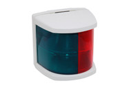 Bi-Colour Navigation Lamp 12v - White Case