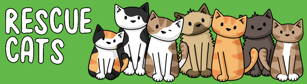 rescue cats banner