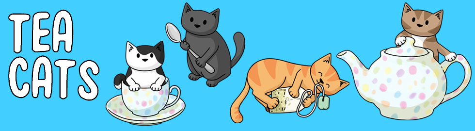 tea cats banner