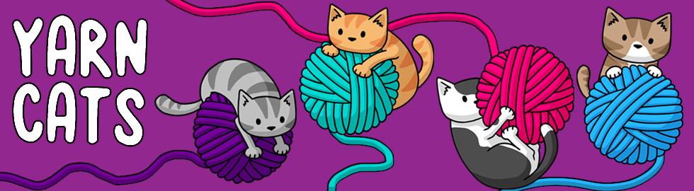 yarn cats banner