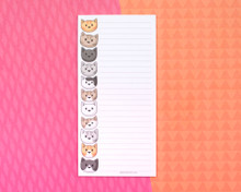 Cat Heads Notepad with optional magnet