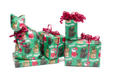 Christmas Cats Wrapping Paper