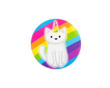 Unicorn Cat - Window Cling