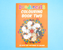 Cat Colouring Book - Volume Two