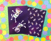 Astro Cat Postcards - Set of 6