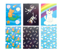 Cat Postcard Collection - Set of 6