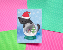Snowglobe - Christmas Cards - 6 Pack