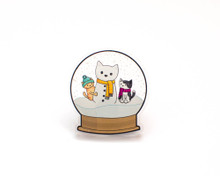 Snow Globe  Fridge Magnet