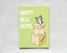 Happy New Home - Greetings Card