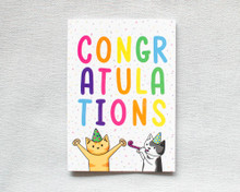 Congratulations - Greetings Card