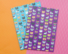 Emoticat Notebooks - Set of 2 - A5 Lined