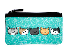 Cat Heads Pencil Case