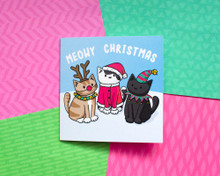 Doodlecats Meowy Christmas Cats - Christmas Cards - 6 Pack