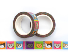 Cattastic  Cats Washi Tape