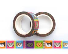 Cattastic  Cats Washi Tape