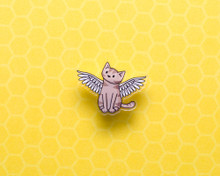 Angel Cat - Acrylic Pin