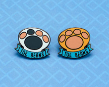 Toe Beans - Hard Enamel Pin