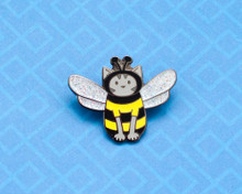 Bee Cat - Hard Enamel Pin