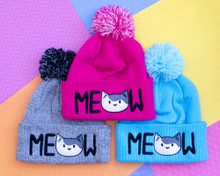 MEOW Bobble Hat