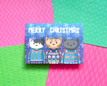 Christmas Sweaters - Christmas Cards - 6 Pack