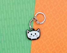 Cat Skull - Key Ring