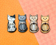 Sitting Cat Phone Ring