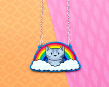 Rainbow Cat Necklace