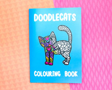 Mini Doodlecats Colouring Book - SUPER DOODLEY