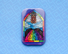 Rainbow Bridge - Fridge Magnet