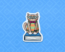 Nerd Cat Magnet