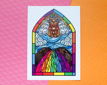 Rainbow Bridge - Art Print