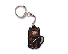 Chewie Cat - Key Ring
