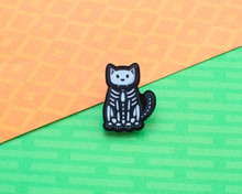 Skeleton Cat -Halloween Acrylic Pin
