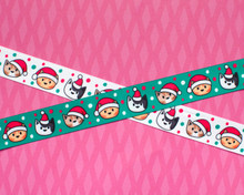 Christmas Satin Ribbon 22mm - per metre