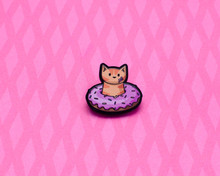 Donut Cat -  Acrylic Pin